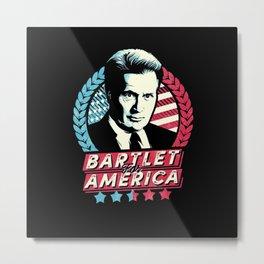 bartlet Metal Print