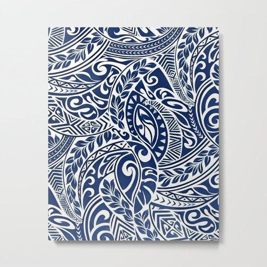Hawaiian tribal pattern III Metal Print