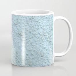 Sky Blue Spray Plaster Texture Coffee Mug