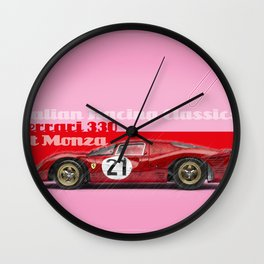 Monza F330 Wall Clock