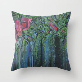 Chinampas Throw Pillow