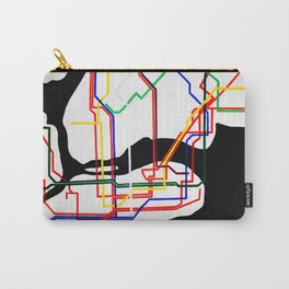 NYC Subway  Carry-All Pouch