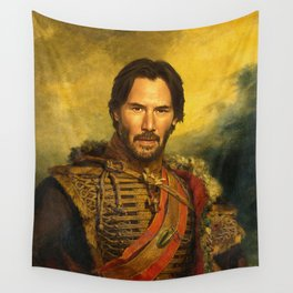 Keanu Reeves - replaceface Wall Tapestry