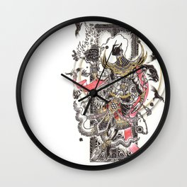 The Giant Mask Wall Clock