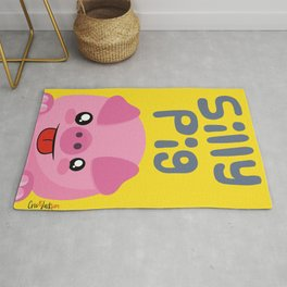 Silly Animals Serie: Silly Pig Rug