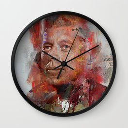 Icon number 6 Wall Clock