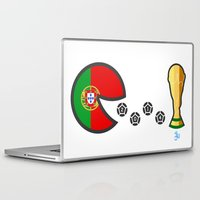 portugal Laptop & iPad Skins featuring Portugal by onejyoo