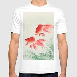 Ohara Koson - Two veil goldfish T-shirt