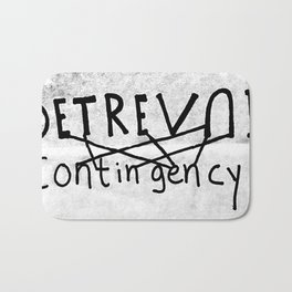 DETREVNI Contingency Bath Mat