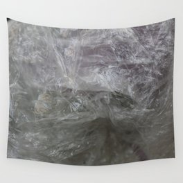 foil cloud wrinkle structured surface Wall Tapestry