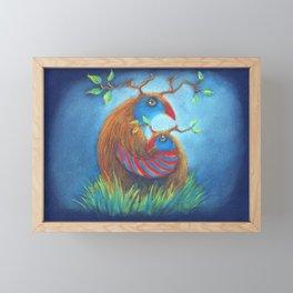 Ibabiribi Framed Mini Art Print