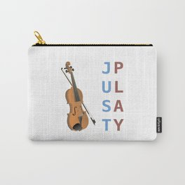 Just Play the Violin Carry-All Pouch