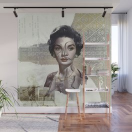 Queen of Egypt / Surrealism Wall Mural