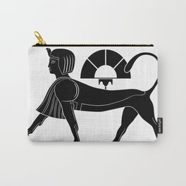 Sphinx - mythical creatures of ancient Egypt Carry-All Pouch