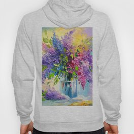 Bouquet of lilac Hoody