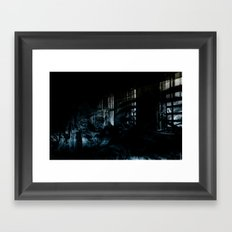 Ghost Building Framed Art Print
