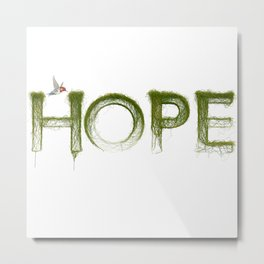 Just Hope Metal Print