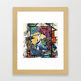 Astrology Virgo Framed Art Print