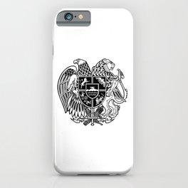 ARMENIAN COAT OF ARMS - Black iPhone Case