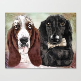 Lola and Tobin Canvas Print