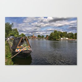 The River Thames At Marlow Canvas Print