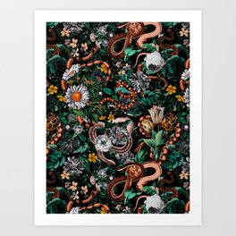 Dangers in the Forest V Art Print