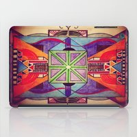 mandala iPad Cases featuring Mandala by Aaron Carberry