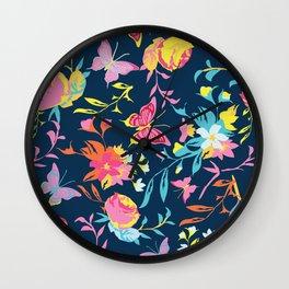 A SPLASH OF COLOUR Wall Clock