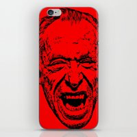 literature iPhone & iPod Skins featuring Outlaws of Literature (Charles Bukowski) by Silvio Ledbetter