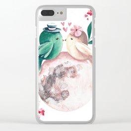 Loving Bird Clear iPhone Case