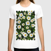 daisies T-shirts featuring Daisies by Mauricio Togawa