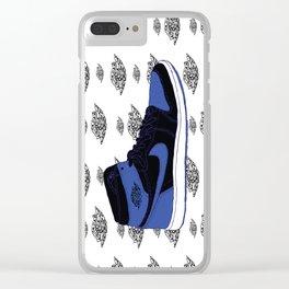 Jordan 1 Royal Clear iPhone Case