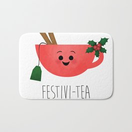 Festivi-tea Bath Mat