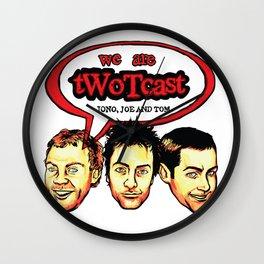 tWoTcast Wall Clock