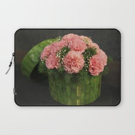 Box of Carnations Laptop Sleeve
