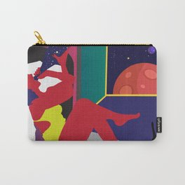 Drinking Champagne in Outer Space Carry-All Pouch