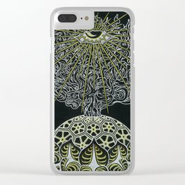 Ajnatic Blossom Clear iPhone Case