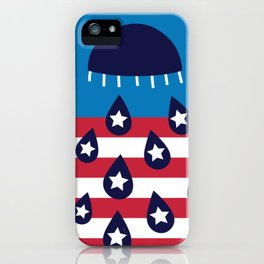 Red White and Blues iPhone Case