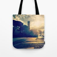 rome Tote Bags featuring rome by xp4nder