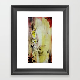 Deathy By Fresh Toast Framed Art Print