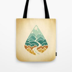 The Road Goes Ever On: Autumn Tote Bag