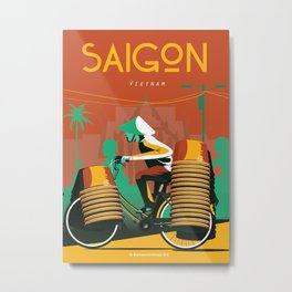 Vietnam Travel poster  Metal Print