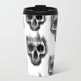Aztec skull Travel Mug