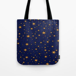 Ravenclaw Chapter Stars Tote Bag