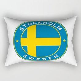 Sweden, Stockholm, circle Rectangular Pillow