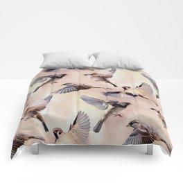 Sparrow Flight Comforters