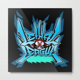 Lethal League Logo Metal Print