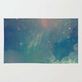Space fall Rug