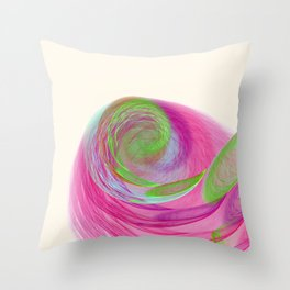 Feather Nebula Throw Pillow