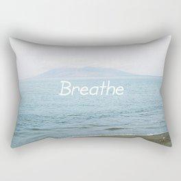 Take a moment and ... Rectangular Pillow
